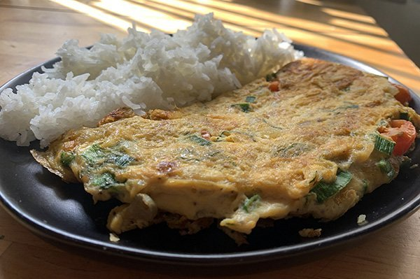 Lao Omelette
