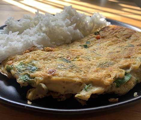 Lao Omelette Photo